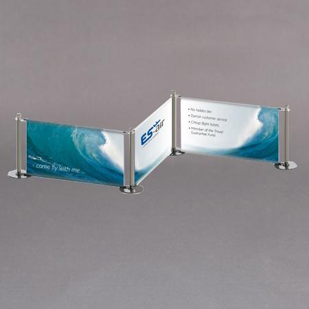 Køordnersystem med banner