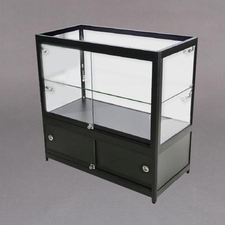90x90x45 1x7mm glasshylle,lås