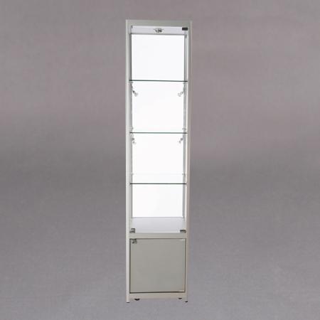 45x200x45 3x7mm glasshylle,lås