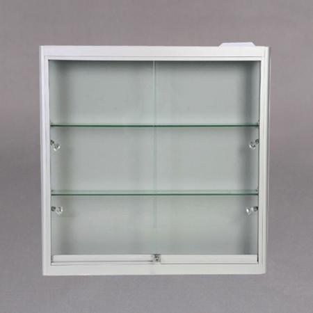 90x90x15 2x7mm glasshylle,lås