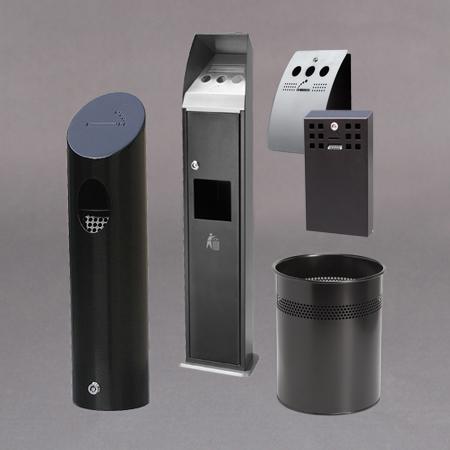 Avfalls beholdere