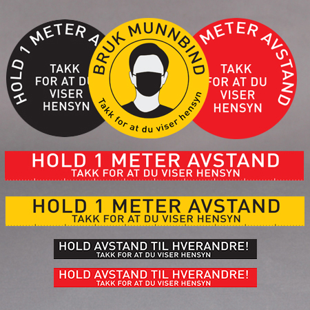 Hold avstand merker | SAM produkter AS