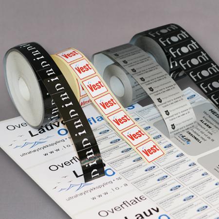 Etiketter og klistremerker