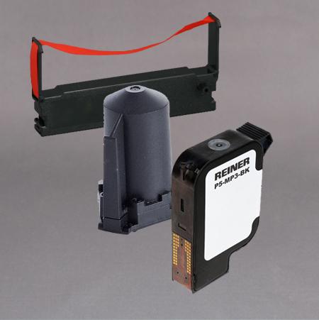 Fargebånd til Reiner elektriske stempler